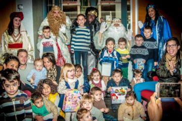 Cabalgata de Reyes Magos en el COECS.